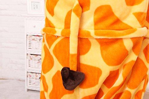 Misslight Unicorn Pyjamas Costumes d'animaux Cosplay Pyjamas Combinaison Vêtements de nuit Combinaison pour Enfant Adulte Unisexe Girafe