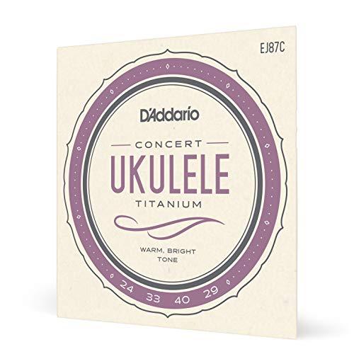 D\'Addario EJ87C Saitensatz Titanium Ukulele Concert