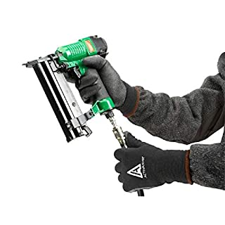 1 Pair Ansell 97-631 ActivArmr PVC Grip Palm Warm Thermal Winter Lined Work Gloves (8 S)