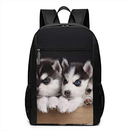 ack, Funny Husky College School Computer Bag for Women Men ()