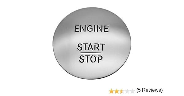 akaddy Keyless Go Start Stop Push Button Engine Ignition Switch 2215450714 Silver