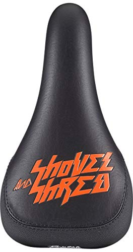Reverse Nico Vink Shovel & Shred MTB FR Downhill Fahrrad Sattel schwarz/orange