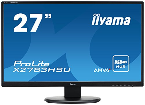 iiyama X2783HSU B1 27 ProLite AMVA HD LED Monitor Black Products