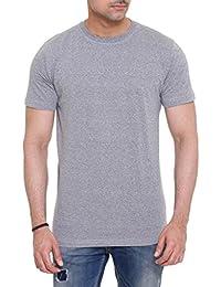 Colors & Blends Men's Cotton Round Neck Grindle T-shirt