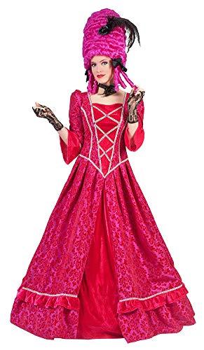 Barock Kostüm Elizabeth für Damen - Pink Gr. 48 50