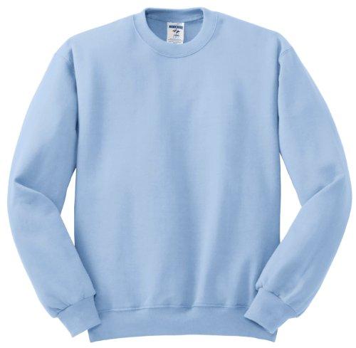 Hockey Symbol auf American Apparel Fine Jersey Shirt Blau - Hellblau