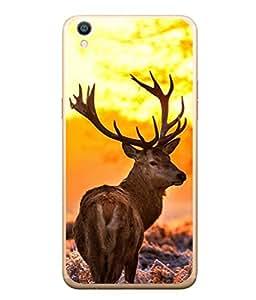 PrintVisa Innocent Animal High Gloss Designer Back Case Cover for Oppo F1s