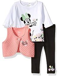 Disney Baby Girls Minnie Mouse 3 Piece Vest