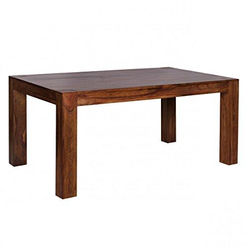 Esstisch Mumbai Massivholz Sheesham 160-240cm ausziehbar Esszimmer-Tisch Design Küchentisch Landhaus-Stil Holztisch