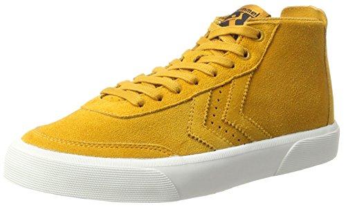 hummel Unisex-Erwachsene Stockholm Suede Mid Hohe Sneaker, Braun (Inca Gold), 39 EU (Erwachsenen Lifestyle-schuhe Schuhe,)