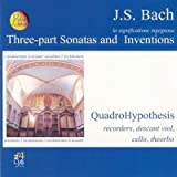 La significatione ingegnosa Three-part sonatas and inventions Sonata per flauto BWV 1032 in LA Sinfonia BWV 787 > 801 Sonata per flauto traverso violino e bc BWV 1038