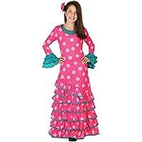 Atosa 26537 - Flamenco, rosa, muchacha Tamaño 140, rosa