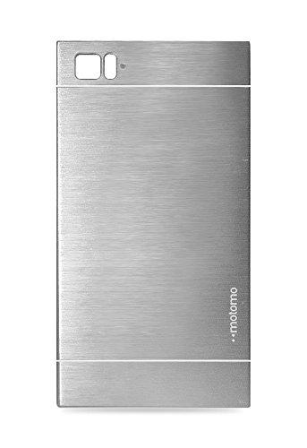 Motomo Back Case cover for Xiomi - X-Mi3-S (Silver)