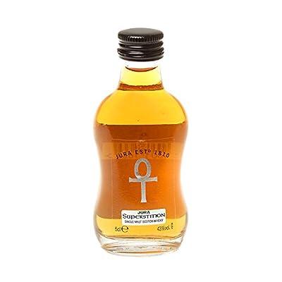 The Isle of Jura Superstition Single Malt Scotch Whisky (12 x 5cl Miniature Bottles)