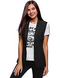 Amazon.it  oodji Ultra - Giacche da abito e blazer   Tailleur e giacche ... 280e05b7804