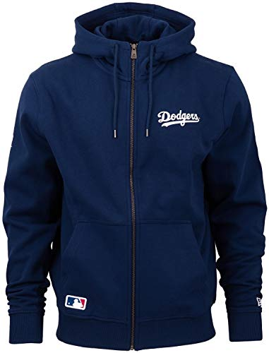 New Era Herren Sweatjacke Team Apparel Script FZ Hoody Los Angeles Dodgers - Dark Blue L