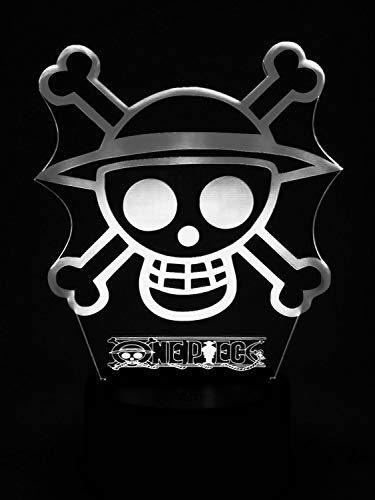 Preisvergleich Produktbild Original One Piece Lampe Best Geschenk für Baby Kind Kids Mann Frau Beste Dekoration für Heim Nacht