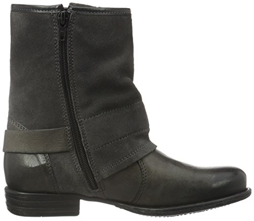 Tom Tailor 1694201, Bottines non doublées femme Gris - Grau (coal)