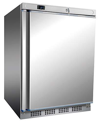 Congelador de acero inoxidable de 200 litros
