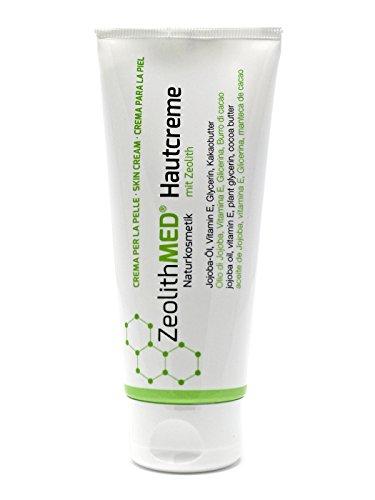 Zeolith MED Hautcreme 100ml, Naturkosmetik, ohne Parabene, ohne Parfum