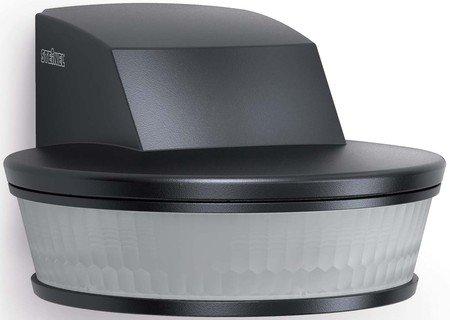 Steinel SensIQ S KNX Passive Infrared (PIR) Motion Sensor Wall Black–Detectors (Passive Infrared (PIR) Sensor, 20–50°C, Black, 74x 128x 114mm, 20m)