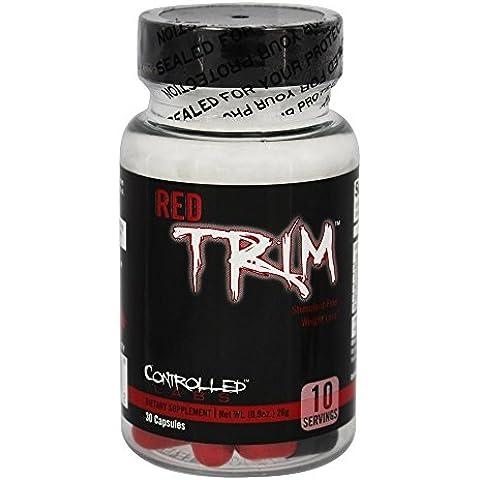 Controlled Labs - rosso Trim stimolante libero peso perdita -