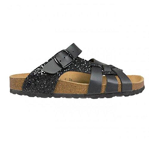 Lico Bioline Gleam, Pantofole Donna Nero