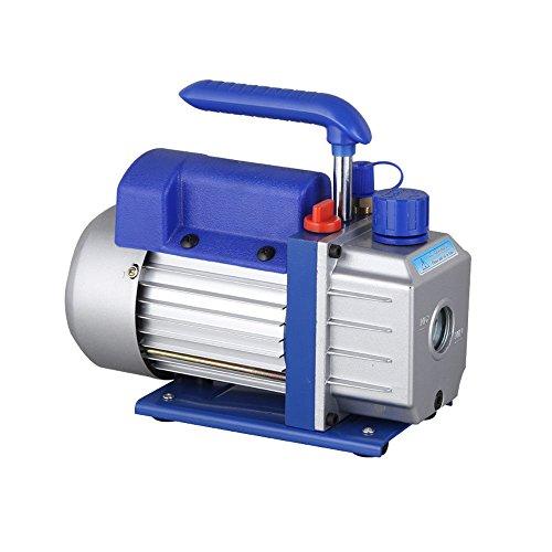 Hansemay Professionelle Vakuumpumpe Kit 2.5CFM 1 / 4HP Vakuumpumpe Klimaanlage Kühlung Geräuscharm 180 Watt -