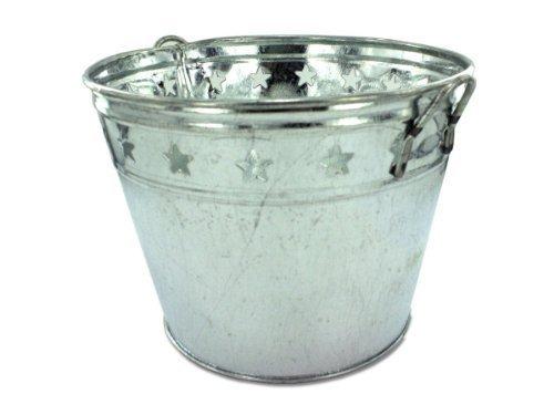 Kole OA235 Tin Bucket with Stars Art and Craft Product by (Tin Bucket)
