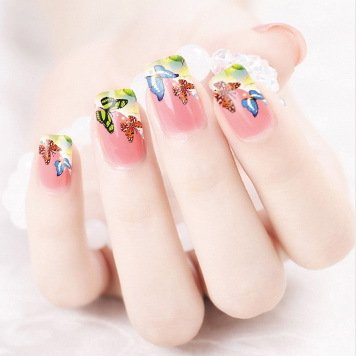 Stickers Pour Ongles Papillons - XF1320 Nail Sticker Tattoo - FashionLife