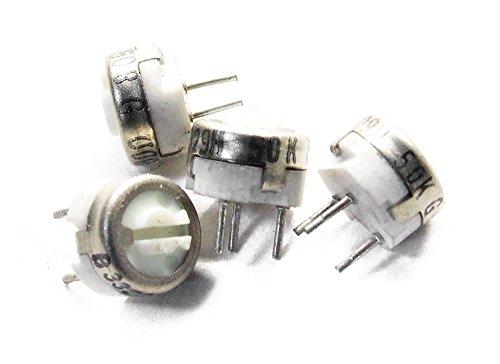 5x Bourns B3329H-50K Ohm ? Ceramic Potentiometer Military Horizontal Trimmer 7mm (Generalüberholt)