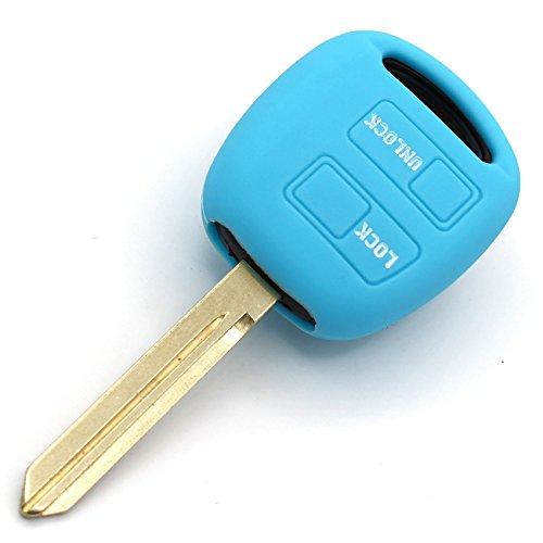 Llave Móvil TD para 2botones llave de coche silicona Cover de Finest de Folia