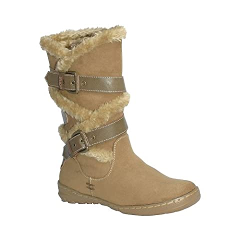 Pixie Amy, Ladies Boots (8, Camel)