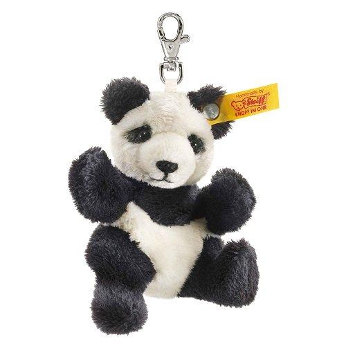 Steiff 112102 - Schlüsselanhänger Panda, schwarz/weiß