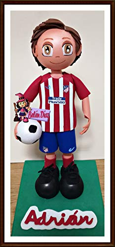 Muñeco fofuchas Atlético de Madrid personalizado 27 cms. fútbol liga