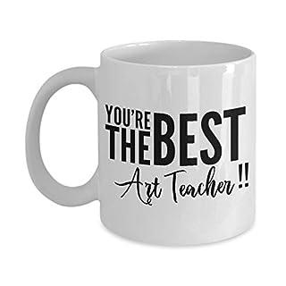 Artist Teacher Mug, Best Artist Teacher, Artist Teacher Gift, Artist Teacher, Gift for Artist Teacher, Ceramic Coffee Mug 11 oz