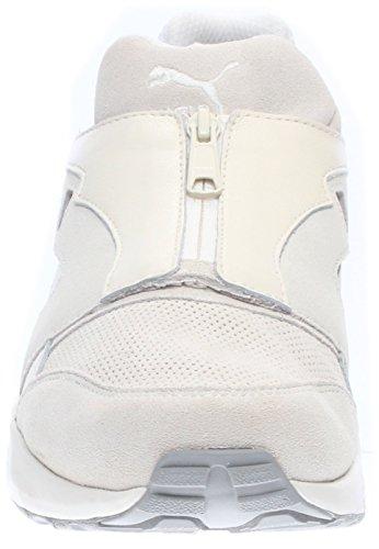 Puma Roma TL Iridescent Cuir Chaussure de Course White-Black