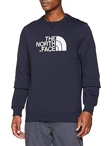 The North Face Herren Drew Peak Crew, Urban Navy/White, XL -