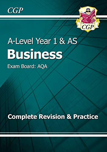 A-Level Business: AQA Year 1 & AS Complete Revision & Practice