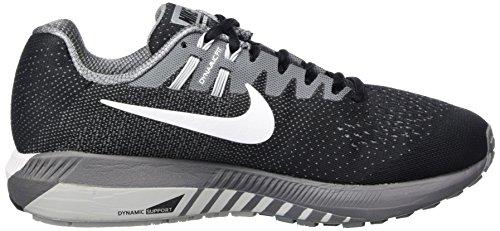 Del Zapatos lobo negro 20 Nike gris Correr Hombre Competición Air Blanco Para Estructura Fresco Zoom Negro dRAwd8x