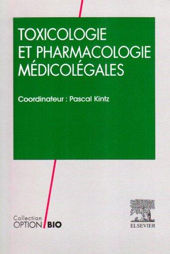 Toxicologie et pharmacologie médicolégales