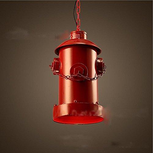 KHSKX Lampadario in ferro battuto dell'idrante antincendio