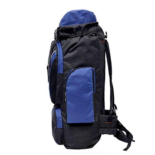 BULAGE Paket Im Freien Multifunktional Rucksäcke Große Kapazität Bergsteigen Ausgehen Reisen Sport Mode Einfach Nähen Zu Fuß Blue