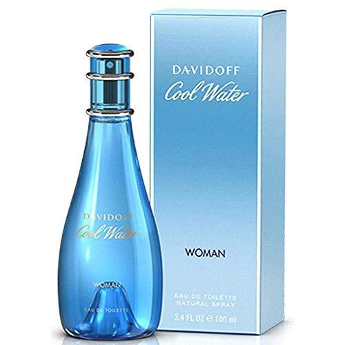 Davidoff Cool Water Woman, Eau De Deodorant Spray, 1er Pack (1 x 100 ml)