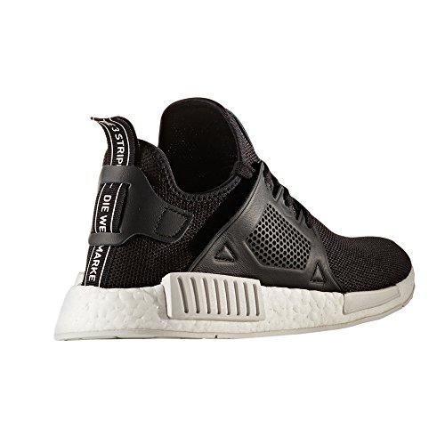 adidas NMD_XR1 PK W, BY9922, BY9921. Noir et blanc Sneaker avec la technologie Boost. Chaussures pour homme. Black/black