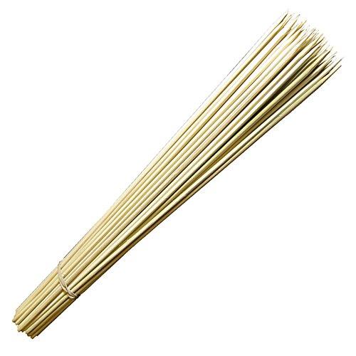KuKoo Zuckerwattestäbchen Zuckerwattestäbe Stäbchen Holzstäbchen 300 Stk. (Die Maschine Bambus-sticks)
