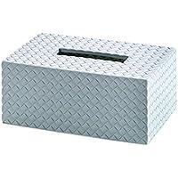 Comparador de precios Z@SS-Caja de pañuelos de plástico Caja de cajón de la sala de estar creativa Caja de almacenamiento de la servilleta del hogar Caja de papel de papel del coche 22 * ??14 * 9.5cm , light blue - precios baratos
