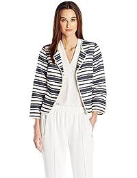 Kensie Women's Upholstery Stripe Jacket