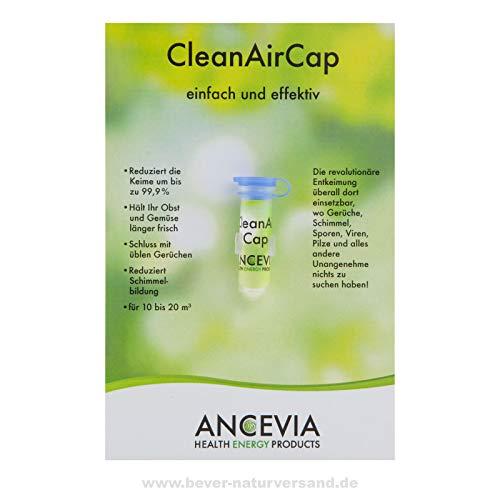 ANCEVIA® CleanAirCap - DesAirCap Bakterien-Killer für Kühlschrank | Desinfektion | Geruch Entferner | Hygiene Filter