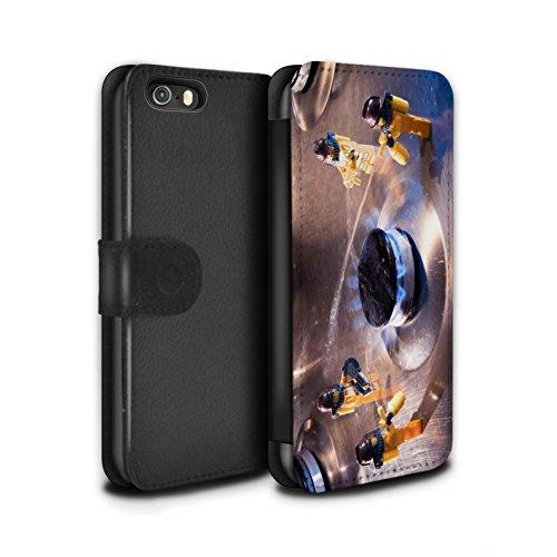 Stuff4 Coque/Etui/Housse Cuir PU Case/Cover pour Apple iPhone 5/5S / Pack 29pcs Design / Imaginer Collection Fausse Alarme